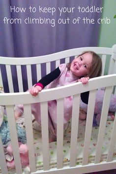 How to keep your toddler from climbing out of the crib Twin Toddlers, Twin  Babies