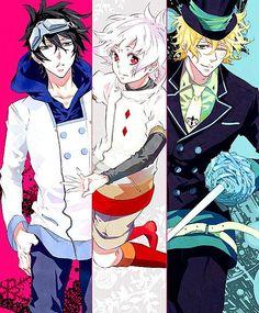 Gareki, Nai, Yogi #anime #karneval