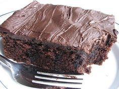 Alan Jackson's Chocolate Cake (my  favorite chocolate sheet cake recipe)-I found this in a Paula Deen mag. and have been making this for a few years. Glad to find it online so I can pin it!!