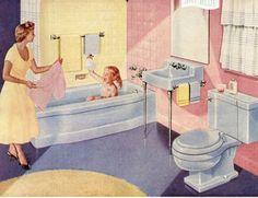 vintage bathroom ad | Pagina non trovata - Bagni dal mondoBagni dal mondo | Un blog sulla ...