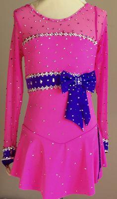 Custom Figure Skating Dress by Kelley Matthews Designs. www.KelleyMatthewsDesigns.com