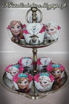 Kristallin hohtoa: Frozen 6 v synttärit  /  Frozen birthday