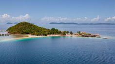 Dream destination. Huma Island, Palawan Philippines <3 bora bora in the Philippines. i inquired last June they said it's still under completion ☺