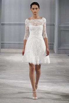 knee length wedding dress - 8 Beautiful Nora Noh Dresses to Wear to Weddings