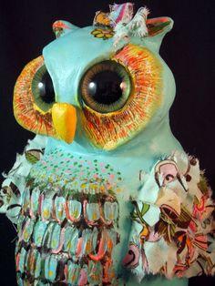 Big-eyed owl