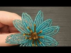 How To Make An Amazing Beaded Flower - DIY Crafts Tutorial - Guidecentral - YouTube