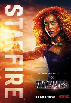 Starfire Titans, Starfire And Raven, Series Dc, Marvel Series, Marvel Cinematic Universe, Dc Universe, Titans Tv Series, Heavy Metal Comic, Original Teen Titans
