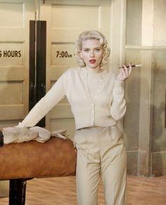 1940s fashion style. Scarlett Johansson in The Black Dahlia. http://1940sfashiondresses.com