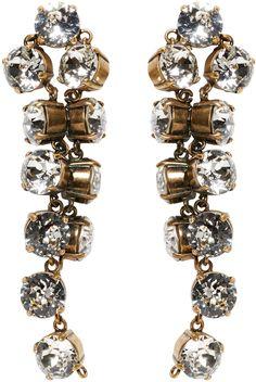 Balenciaga - Gold Twist Earrings