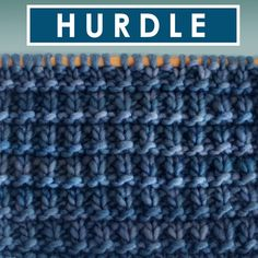 Love collecting easy vintage patterns! Hurdle Knit Stitch Pattern with Free Written Instructions, Knitting Chart, and Video Tutorial by Studio Knit. #StudioKnit #knittingstitches #knitstitchpattern #howtoknit #beginningknitters #knitting #knittingpattern #knitting_tutorial #knittingvideo