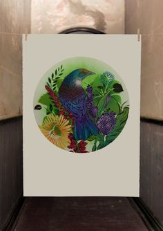 Here's the latest from Haus Of Flox. xx These are all hand-painted on full sheet paper x and […] Nz Art, Kiwiana, It Works, Birds, Hand Painted, Art Prints, Paper, Creative, Ideas