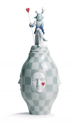 This collection is out there, but I dig it. Conversation Vase, Fantasy Collection Lladró