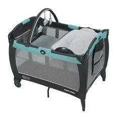 """Graco Pack 'n Play Playard With Reversible Newborn Napper Station & Changing Table LX - Tenley - Graco  - Babies""""R""""Us"""