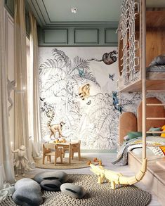 Kids Bedroom Designs, Kids Room Design, Girl Room, Child Room, Cozy House, Bedroom Decor, Modern, Interior Design, Instagram