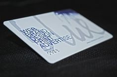 Inkstain Blue Rewards membership card.