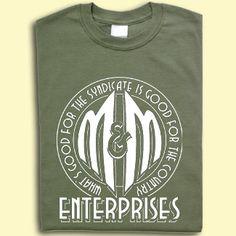milo & minderbinder enterprises shirt... i NEED this like i've never needed anything before! #catch22