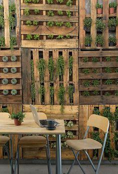 jardim-vertical-suspenso-inverno-ideias-16 Guia com 47 ideias para seu jardim vertical dicas faca-voce-mesmo-diy jardinagem madeira quintais