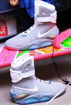 info for 13ae5 8b28e Back to the future Nike Mag, Kicks Shoes, Nike Basketball Shoes, Fresh Shoes