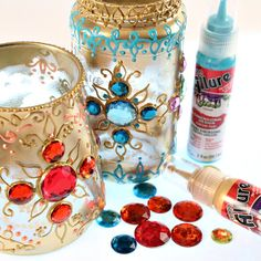 Good Photo Moroccan Lanterns diy Tips Normally for many of us decors, Moroccan lanterns might be a fantastic kind of lights to incorporate. Mason Jar Crafts, Mason Jar Diy, Bottle Crafts, Crafts To Sell, Diy And Crafts, Aladdin Et Jasmine, Jasmin Party, Arabian Nights Party, Aladdin Party