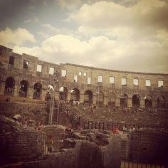 Pula, Croatia. The Colosseum.