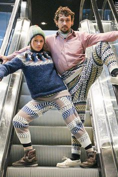 10669527766 056127cab11 Meet Swants: The DIY Sweater Pants That Are Both Terrible And Amazing