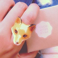 goodafternine: #goodafternine #fox #ring