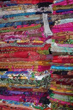 The colors and the textures of Morocco