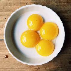 """Good morning, yolks. Photo by @markweinbergnyc."""