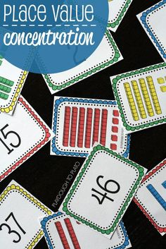 FREE Place Value Concentration. Such a fun way to help kids learn what two-digit numbers really mean!