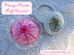 diy vintage powder p