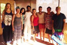Students in our Yoga Studio - Arambol, Goa, India. www.ashtakyoga.com