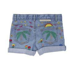 Eddie Denim Shorts - Stella McCartney Kids Online - Kinderkleding Webshop Goldfish.be
