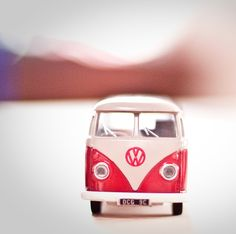 Red VW Bus 8x8