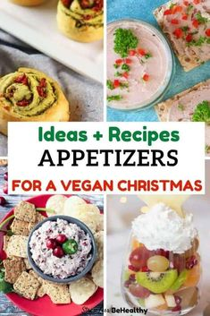 37 Easy Vegan Appetizers for Christmas | Kid Approved Vegan Recipes!