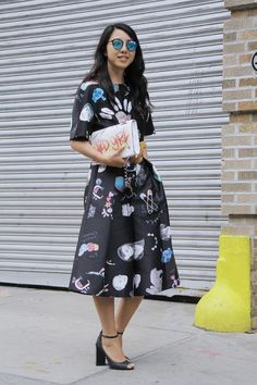 Street Style bei der New York Fashion Week September 2015
