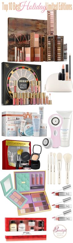Top 10 Best Holiday Limited Edition Beauty Products (Best Eyeshadow Christmas Gifts)