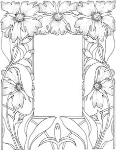 Gorgeous Picture Frame coloring page from Decorations category. Select from 20946 printable crafts of cartoons, nature, animals, Bible and many more.
