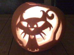 Carved pumpkins!