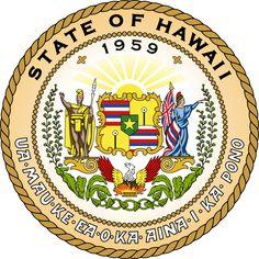 ハワイ州の印 Seal of the State of Hawaii ◆ハワイ州 - Wikipedia https://ja.wikipedia.org/wiki/%E3%83%8F%E3%83%AF%E3%82%A4%E5%B7%9E #Hawaii