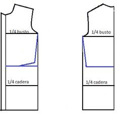 El costurero de Stella: Trazo de vestido camisero sencillo.