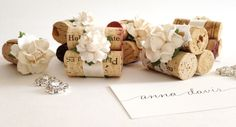 Wedding Place Card Holders & Favors Rustic Vineyard Winery Events – Kara's Vineyard Wedding