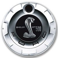Ford GT500 Gas Cap Steel Sign