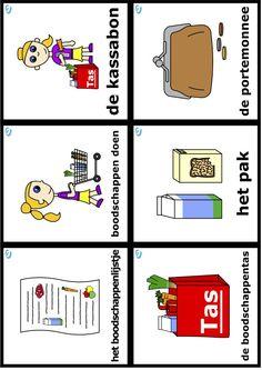 Woordkaarten uk en puk thema eet smakelijk Toddler Play, Restaurant, Christmas Ornaments, School, Kids, Food, Studying, Twist Restaurant, Xmas Ornaments