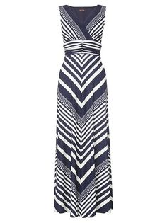 chevron maxi dress - super cute!