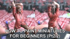 Tutorial: (Pt2/2) How to paint board game miniatures for beginners.