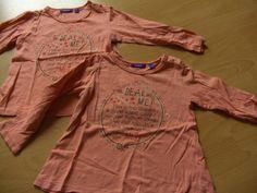 Biete hier süße Shirts, mit schönem Aufdruck an.Preis pro Stück: 5 €Beide…