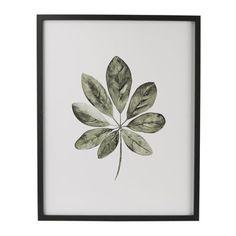 Frame Leaf 1 - black