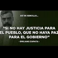 If there is no justice for the people let there not be peace for the government!
