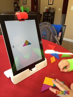 OSMO combines hands-on physical play & iPad technology! Read why teachers want this tangible tech for their classrooms. (via sharing kindergarden)