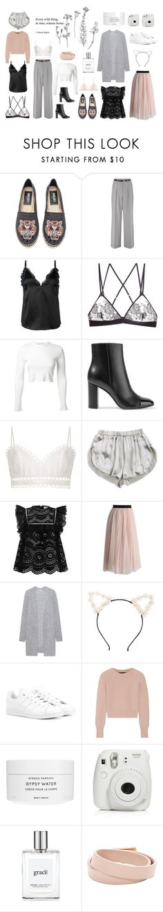 """After all"" by ellasophialove on Polyvore featuring Kenzo, Miss Selfridge, 3.1 Phillip Lim, G-Love Lingerie, Rosetta Getty, Gianvito Rossi, Zimmermann, Dauphin, Chicwish and Acne Studios"